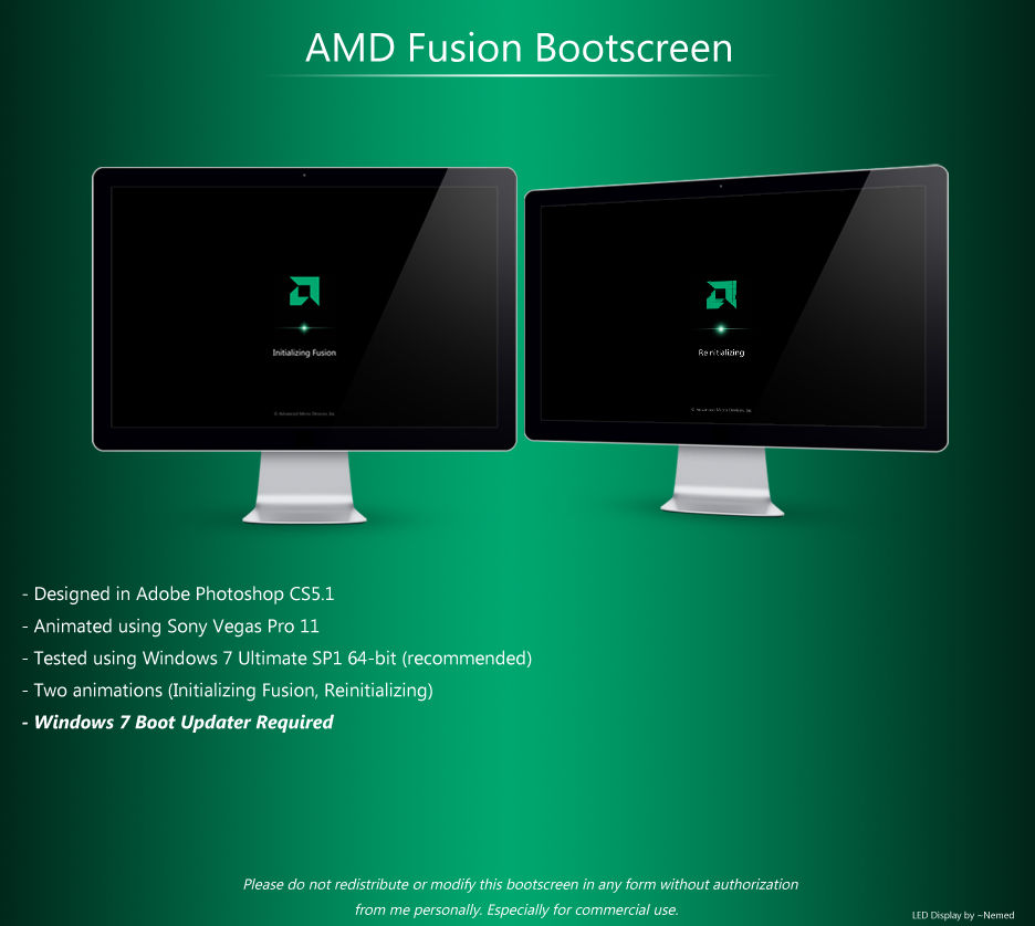 AMD Fusion Bootscreen