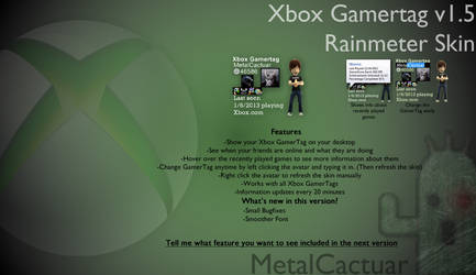 Xbox Gamertag Viewer v1.50