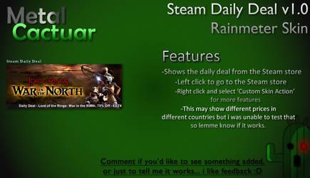 Steam Daily Deal v1.0 by MetalCactuar