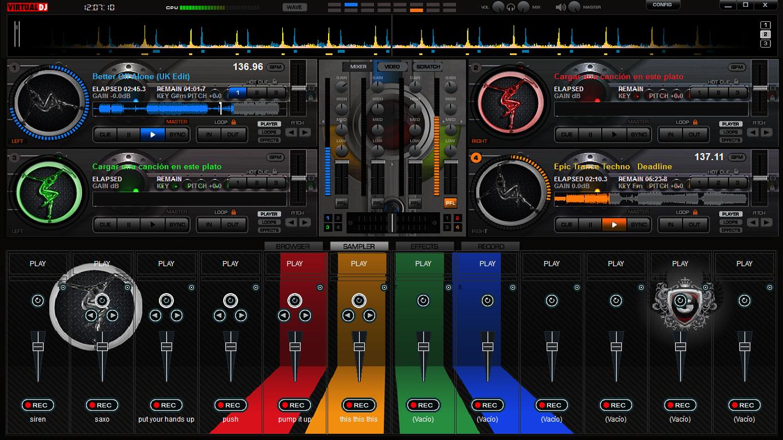 VIRTUAL DJ SOFTWARE MP3 Mixing Software Virtual DJ Pro 7 bluestv net