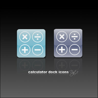 Calculator Dock Icon by Davidgtza2