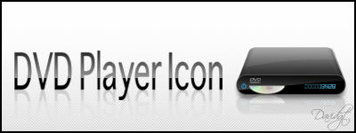 DVD Player Dock Icon by Davidgtza2