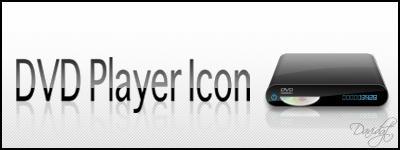 DVD Player Dock Icon by Davidgtza2