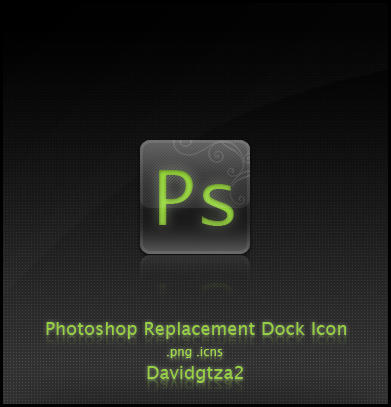 Photoshop Dock Icon by Davidgtza2