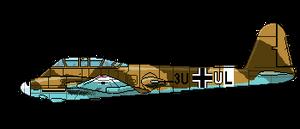 Me.210C-2 by thesunwillnevershine