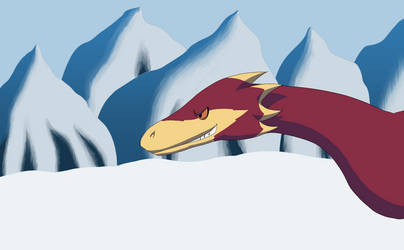Dino Snow Fight