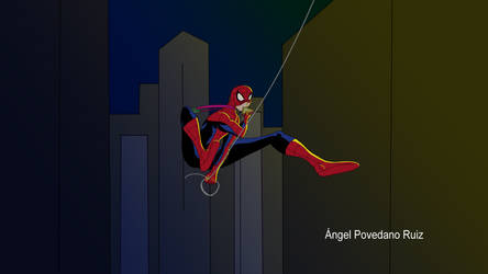 Spider-man animated shot