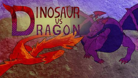 Dinosaur-Vs-Dragon animated short