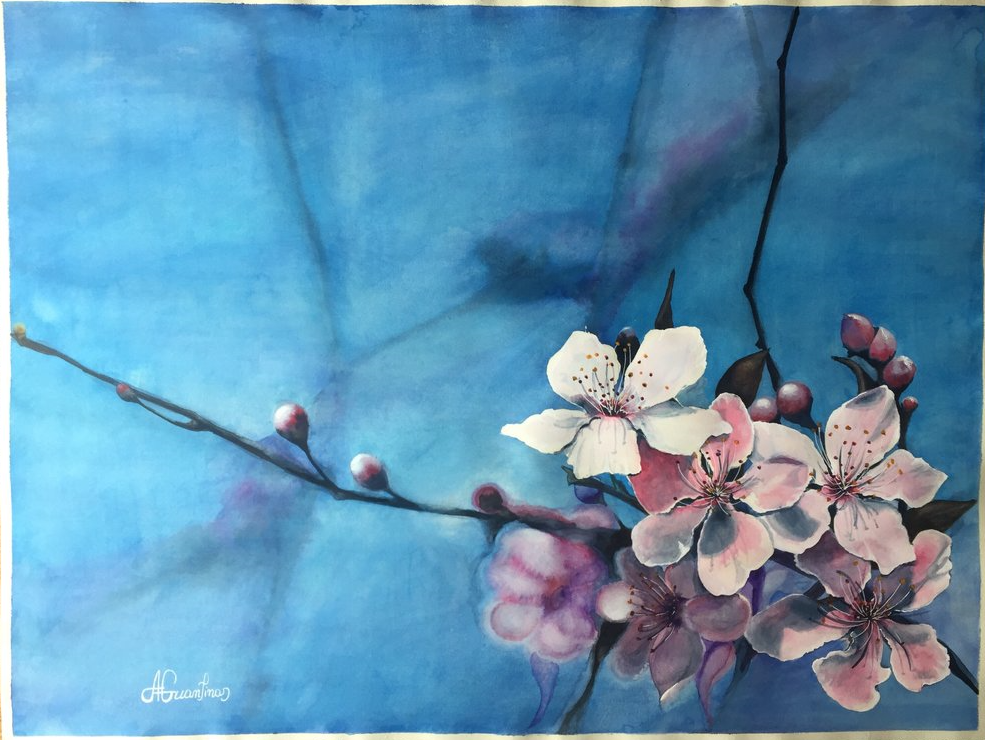 blossom blue ( again ) by Gkantinas