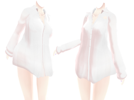 long pajama shirt dl by MikiMikuMMD