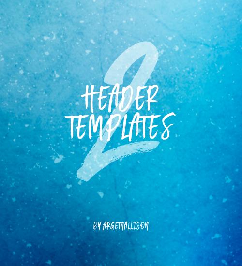 Header Templates 2 By Argetnallison By MirYaski On DeviantArt