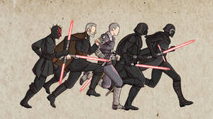 Star Wars Characters Animation by kreativeblade