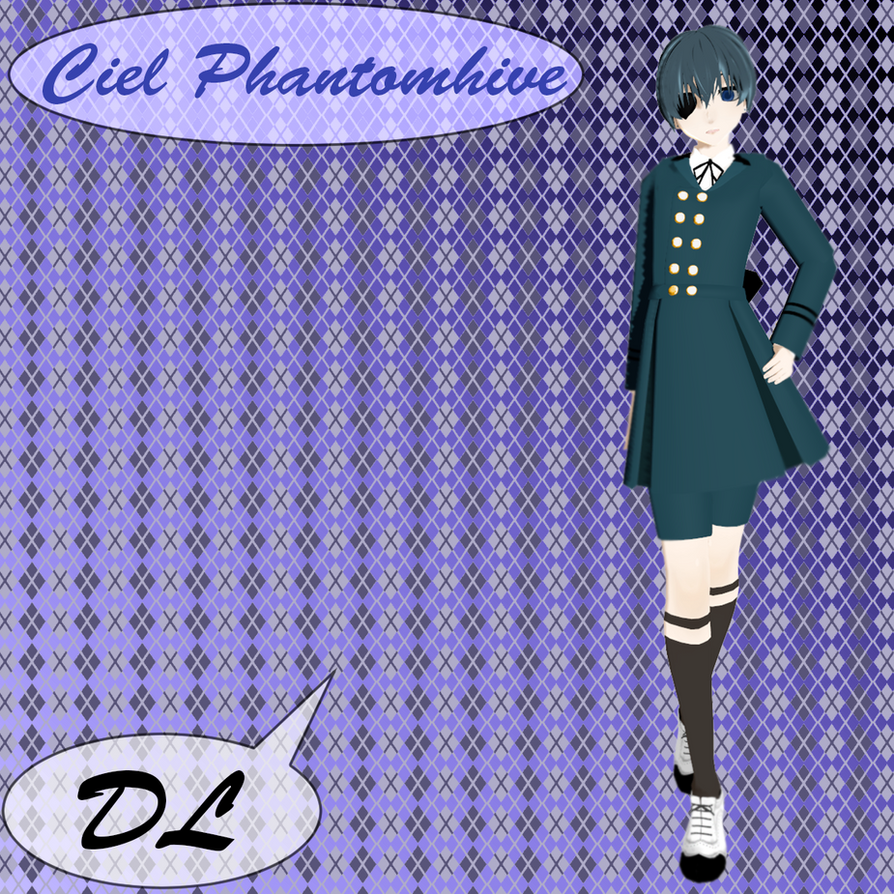 Ciel Phantomhive From Manga ,,Black butler''DL by mirAYUto