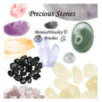 Brushes - Precious Stones
