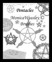 Brushes - Pentacles by Stock-gallery