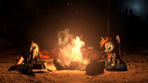 [SFM SWF] FOE - Nightime in the Wasteland