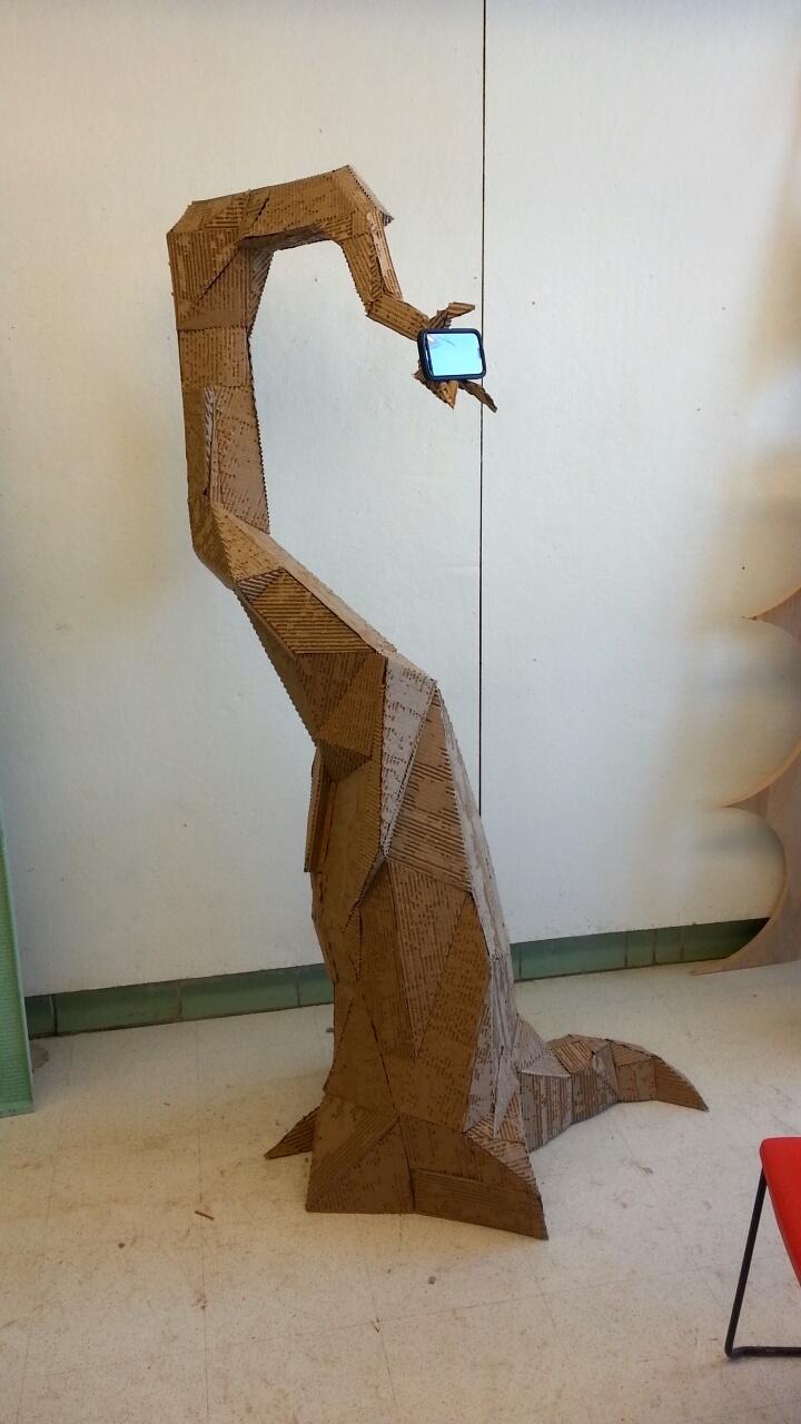 Cardboard Tree Phone Stand By Thebeardedcavalier On Deviantart