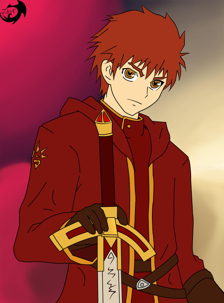 emiya shirou king apeiron background by jamesdfawkes