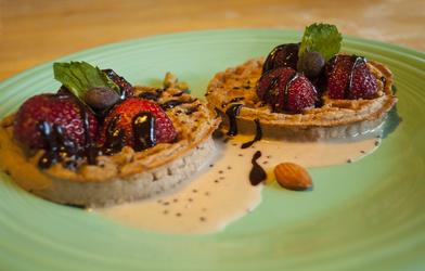 Berries 'n' Cream Waffles by LAPoetry-n-Photo