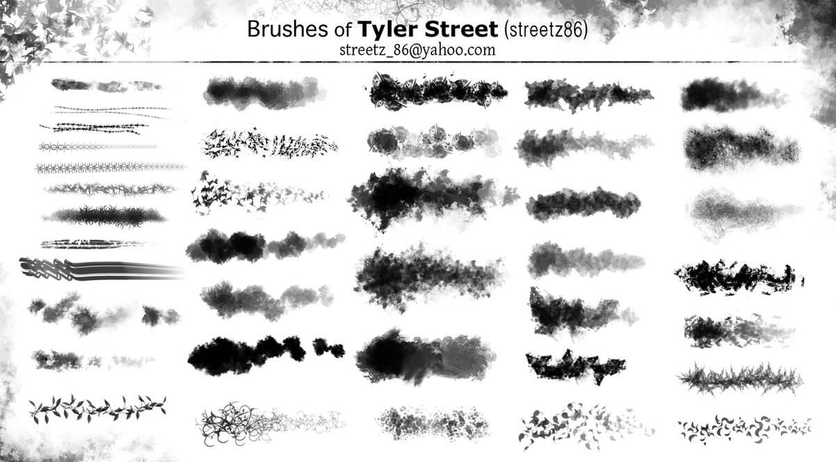Custom Brushes of Tyler Street by ArtofStreet