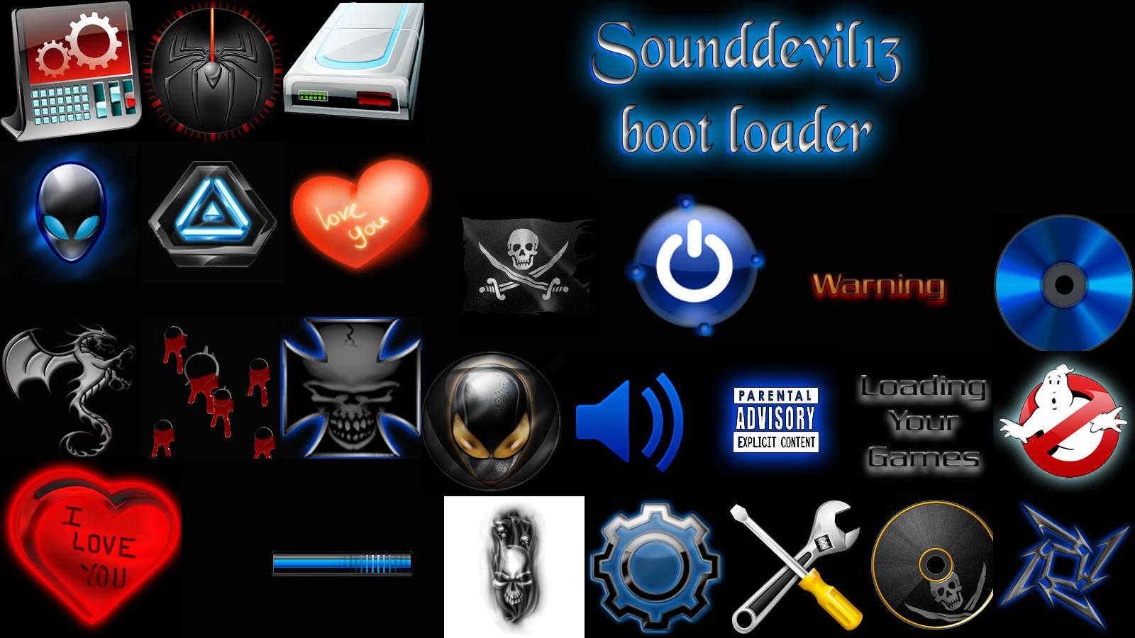 sounddevil 13 boot loaders by sounddevil13