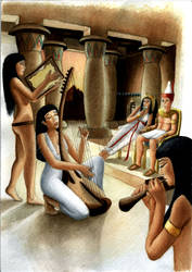 Music in the ancient egipt