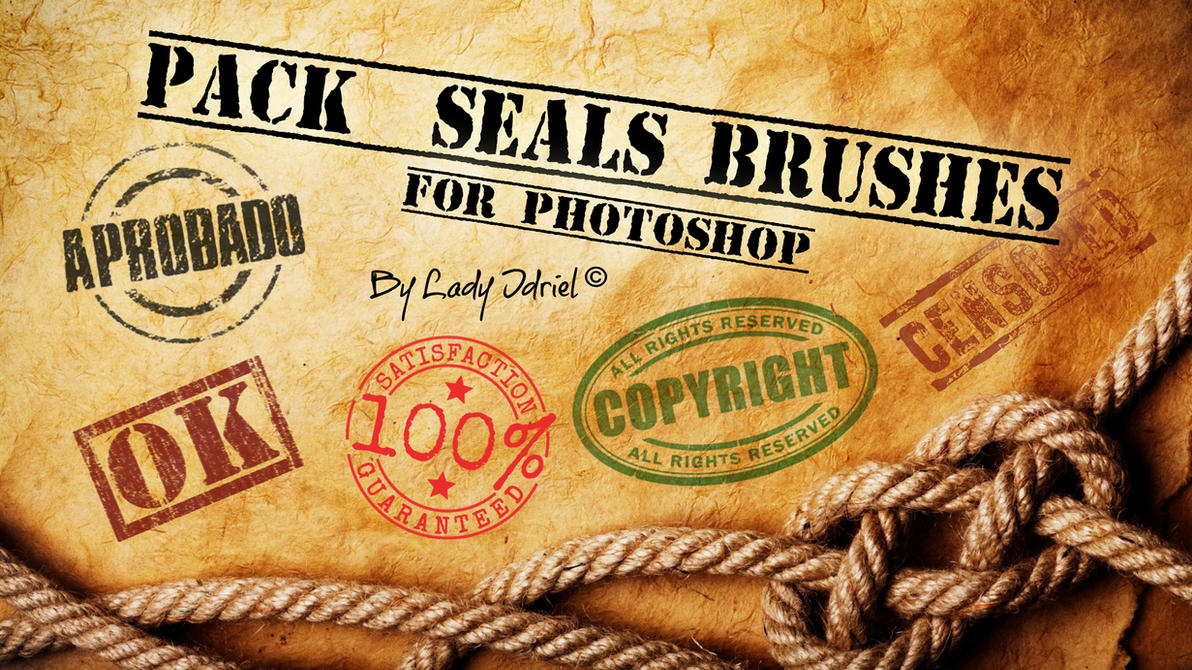 MEGA Pack Seals Brushes by darkadathea
