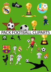 PACK CLIPARTS FOOTBALL