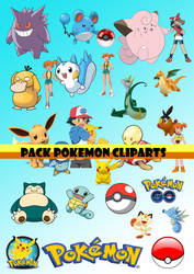 PACK CLIPARTS POKEMON