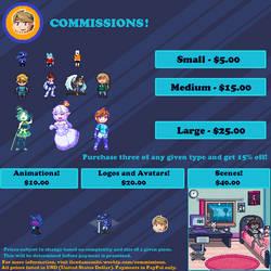Pixel Commissions!