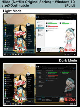 [Win10 1903-2004] Hilda Theme by elzeXD