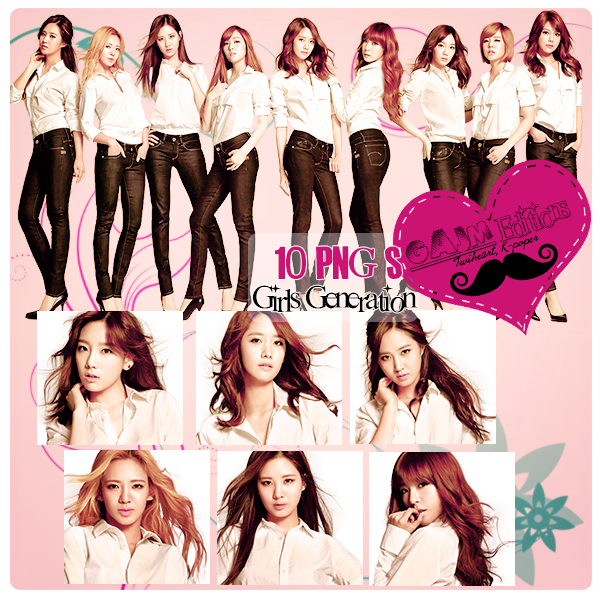 Pack PNG Girls Generation (SNSD)
