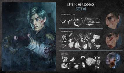 Dark PH brush set 1 by nikafargos2iris