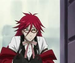 Bored has the Word Red in it (Grell x reader) by