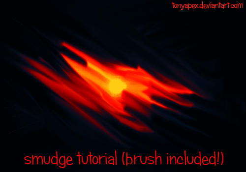Smudge Video Tutorial (.abr Brush Included!)