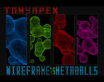 Wireframe Metballs Pack By TonyApex