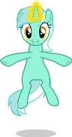 [VECTOR + SVG] Floating Lyra by TriteBristle