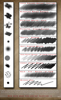 Robs Digital Painting Brush Set - Photoshop CC