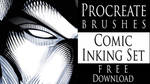 Procreate Brushes - Comic Inking Set - Download