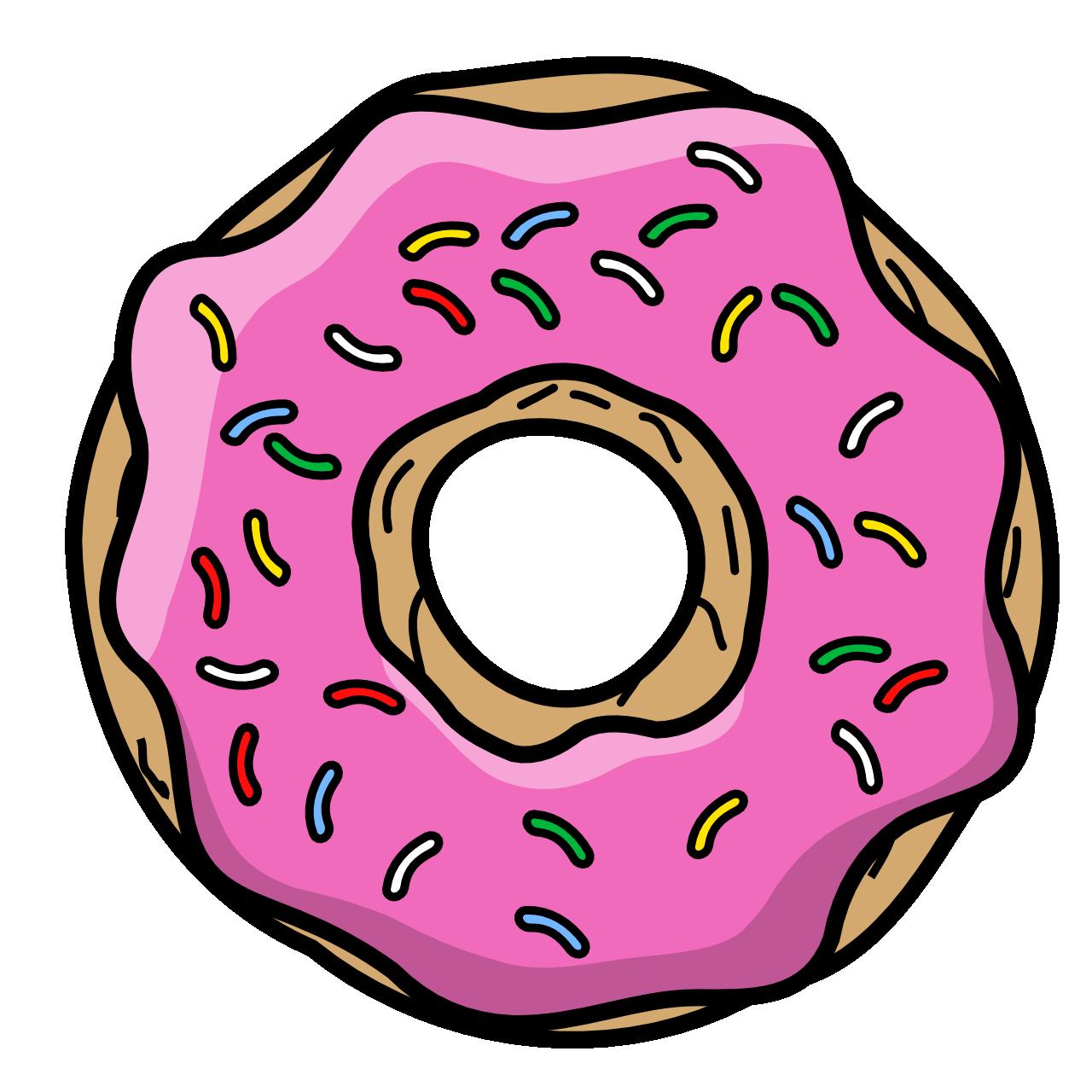 Donut Cartoon by TheGoldenBox on DeviantArt