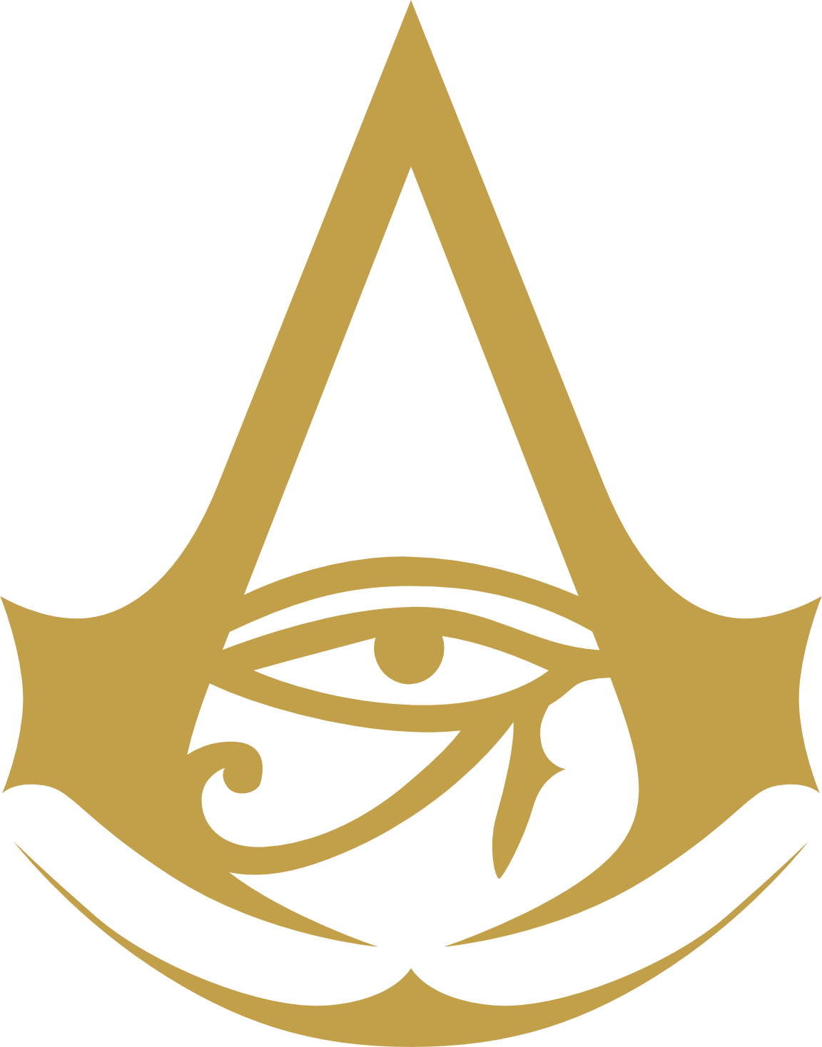 Assassin S Creed Origins Wallpaper And Logo Svg By Thegoldenbox