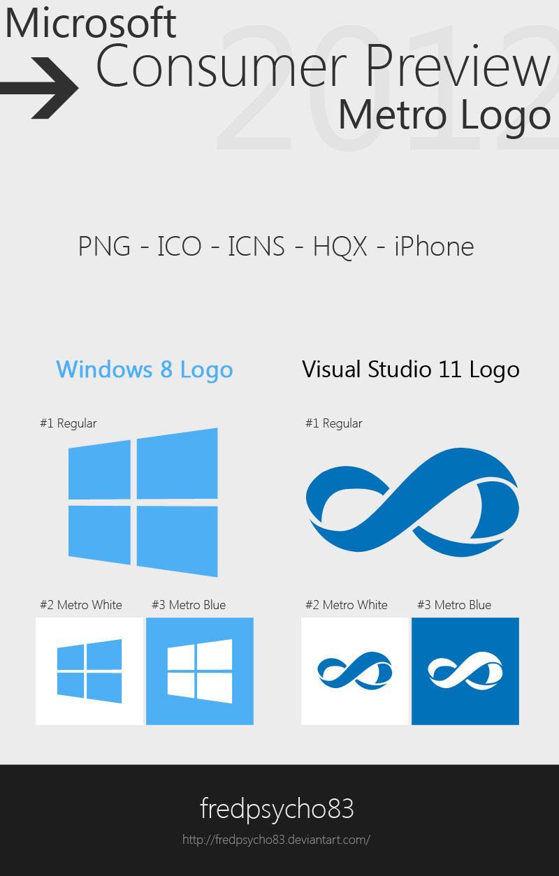Microsoft Consumer Preview Metro Logo by fredpsycho83