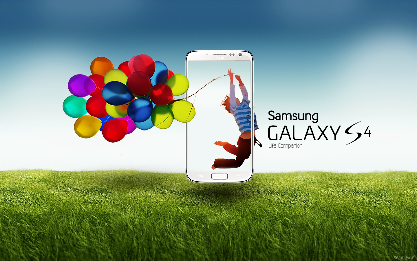 Samsung Galaxy Y Hd Love Wallpaper : Samsung Galaxy S4 Wallpaper by sanjeev18 on DeviantArt