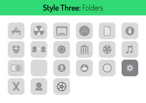 Style Three Folders