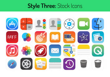 Style Three Stock