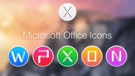 Microsoft Office 2011 Yosemite Style by hamzasaleem