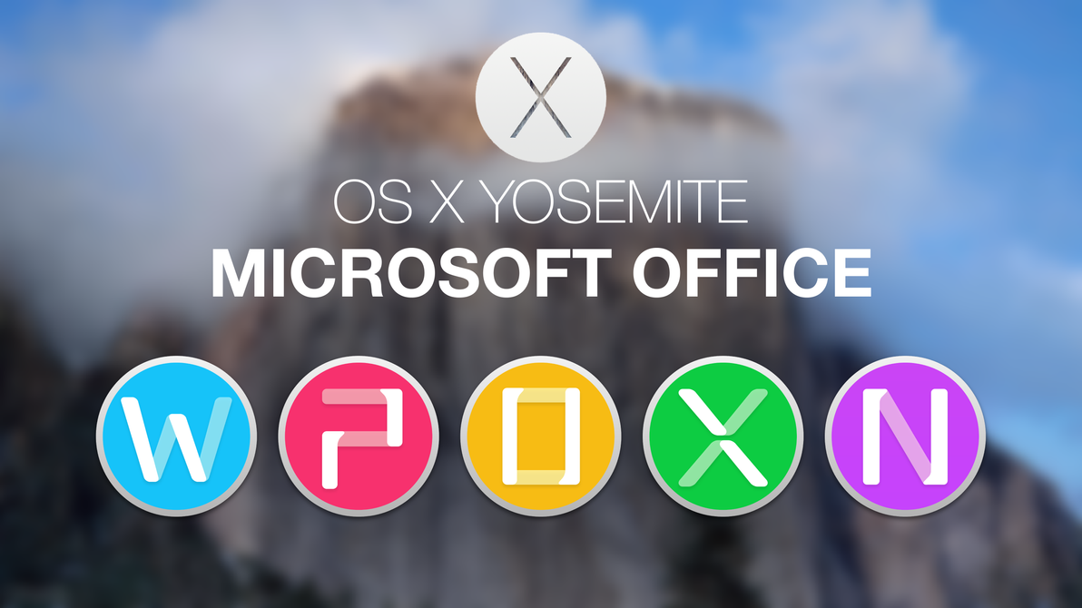 Microsoft Office 2011 Yosemite Style 2 by hamzasaleem