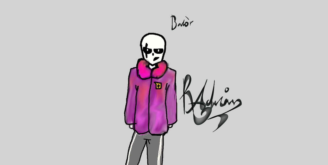 new oc balor (to be redrawn) by reallyadrian