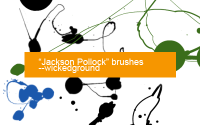 Jackson Pollock brushes by Lucius-Admirer