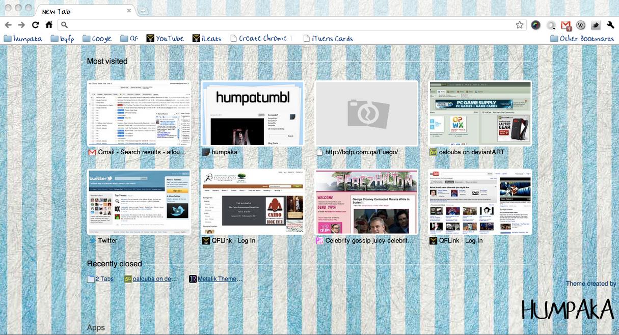 chrome browser theme template by oalouba on deviantart